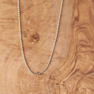 Bead Chain - Silver Sisters
