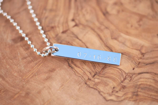 Silver Sisters - Stay Strong - Hand Stamped Personalized